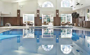 Whittlebury Hall swimming pool